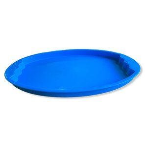 Tupperware Impressions Serving Tray Blue